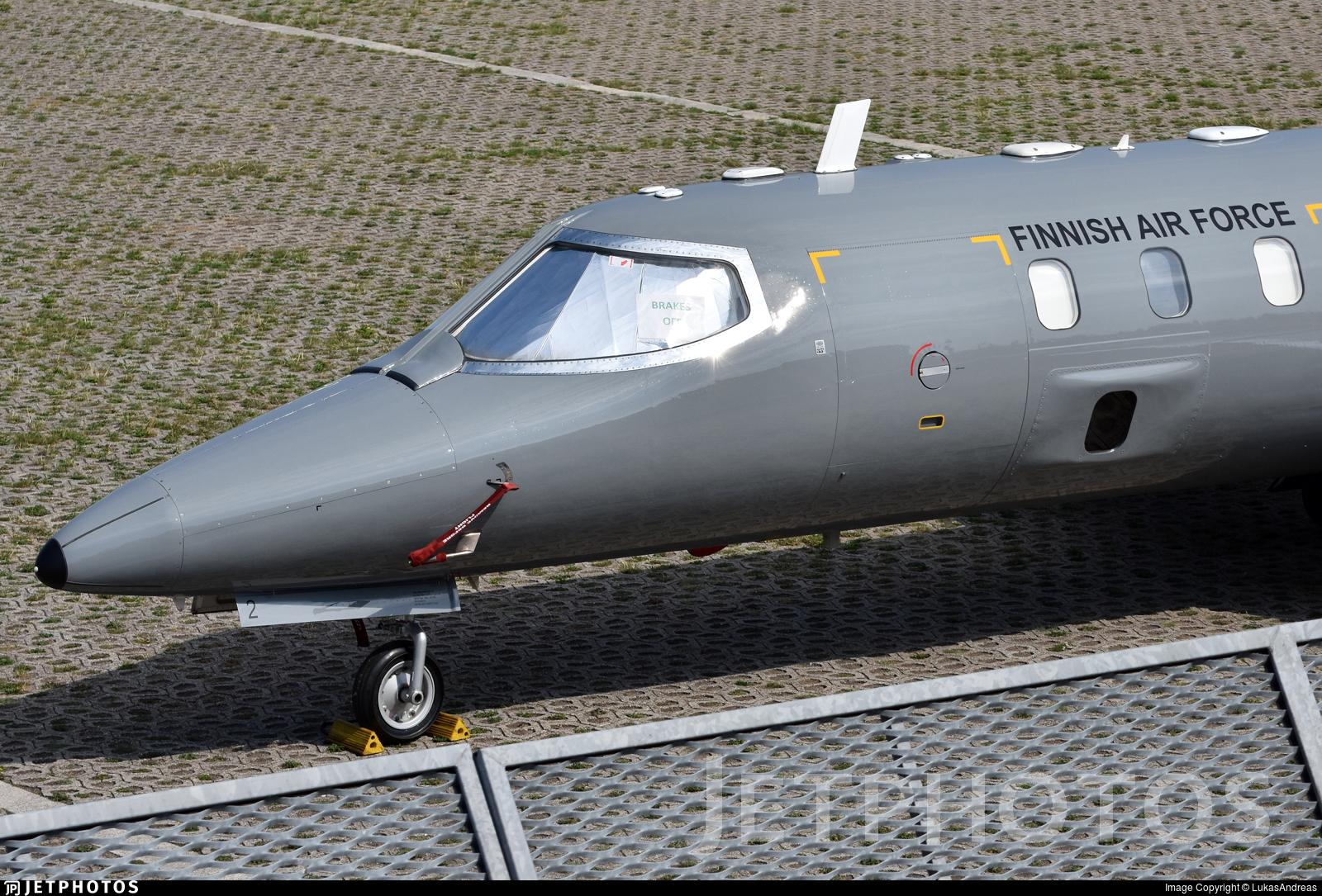 LJ-2 - Bombardier Learjet 35A/S - Finland - Air Force