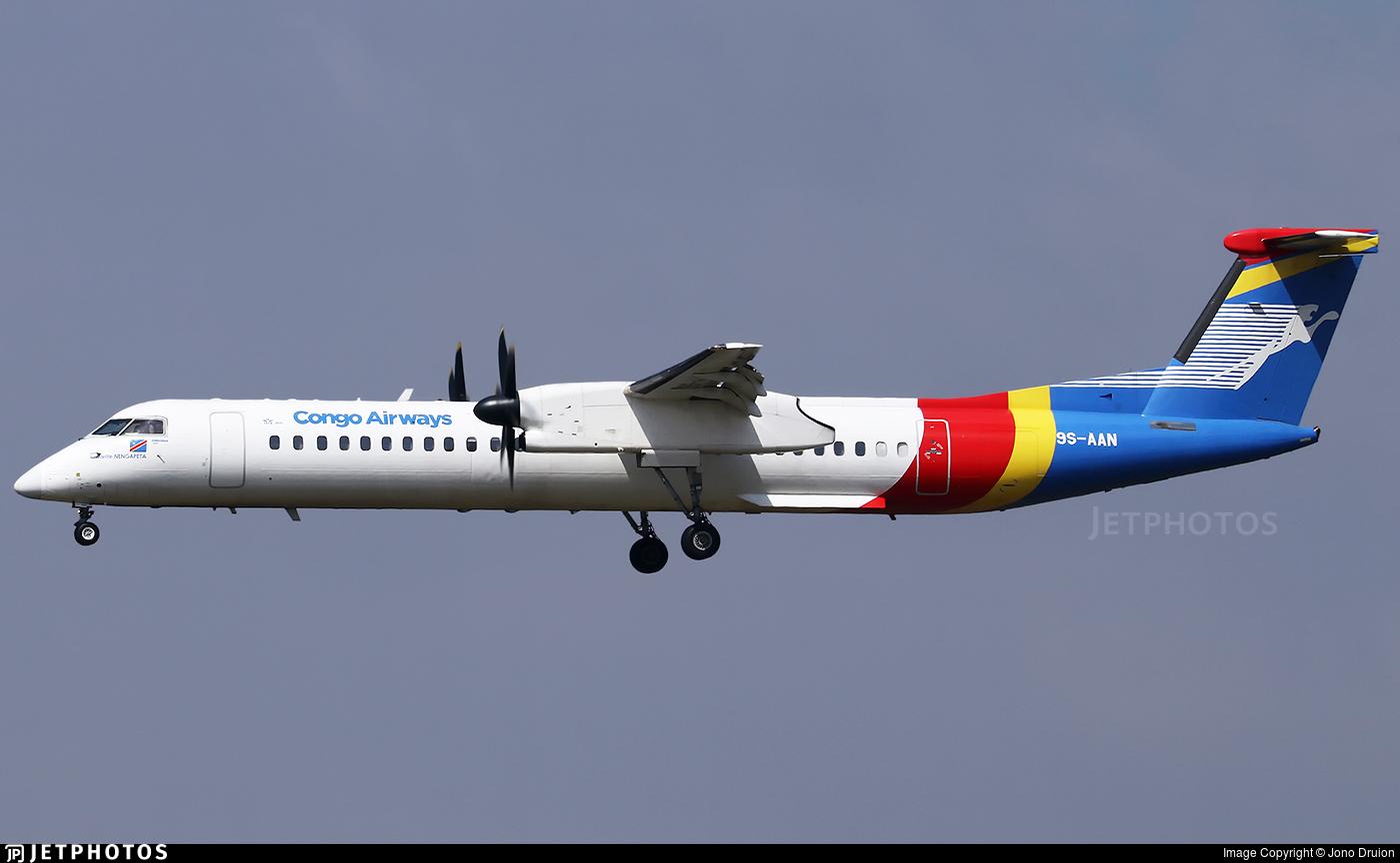 9S-AAN - Bombardier Dash 8-Q402 - Congo Airways