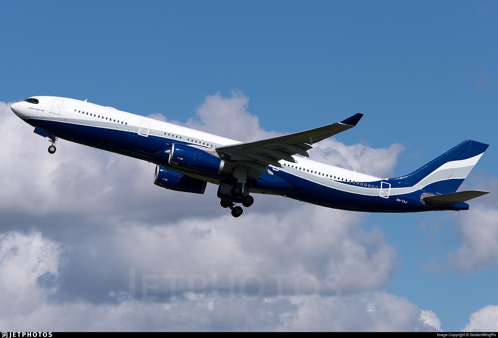 9H-TAJ - Airbus A330-343 - Hifly Malta