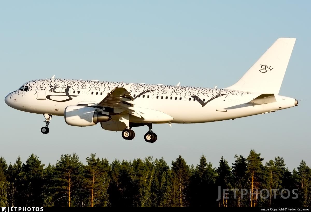 LX-GVV - Airbus A319-115(CJ) - Global Jet Luxembourg