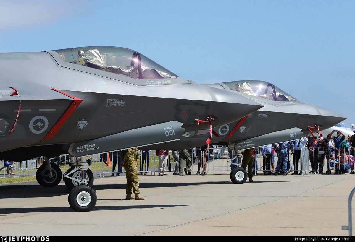 A35-001 - Lockheed Martin F-35A Lightning II - Australia - Royal Australian Air Force (RAAF)