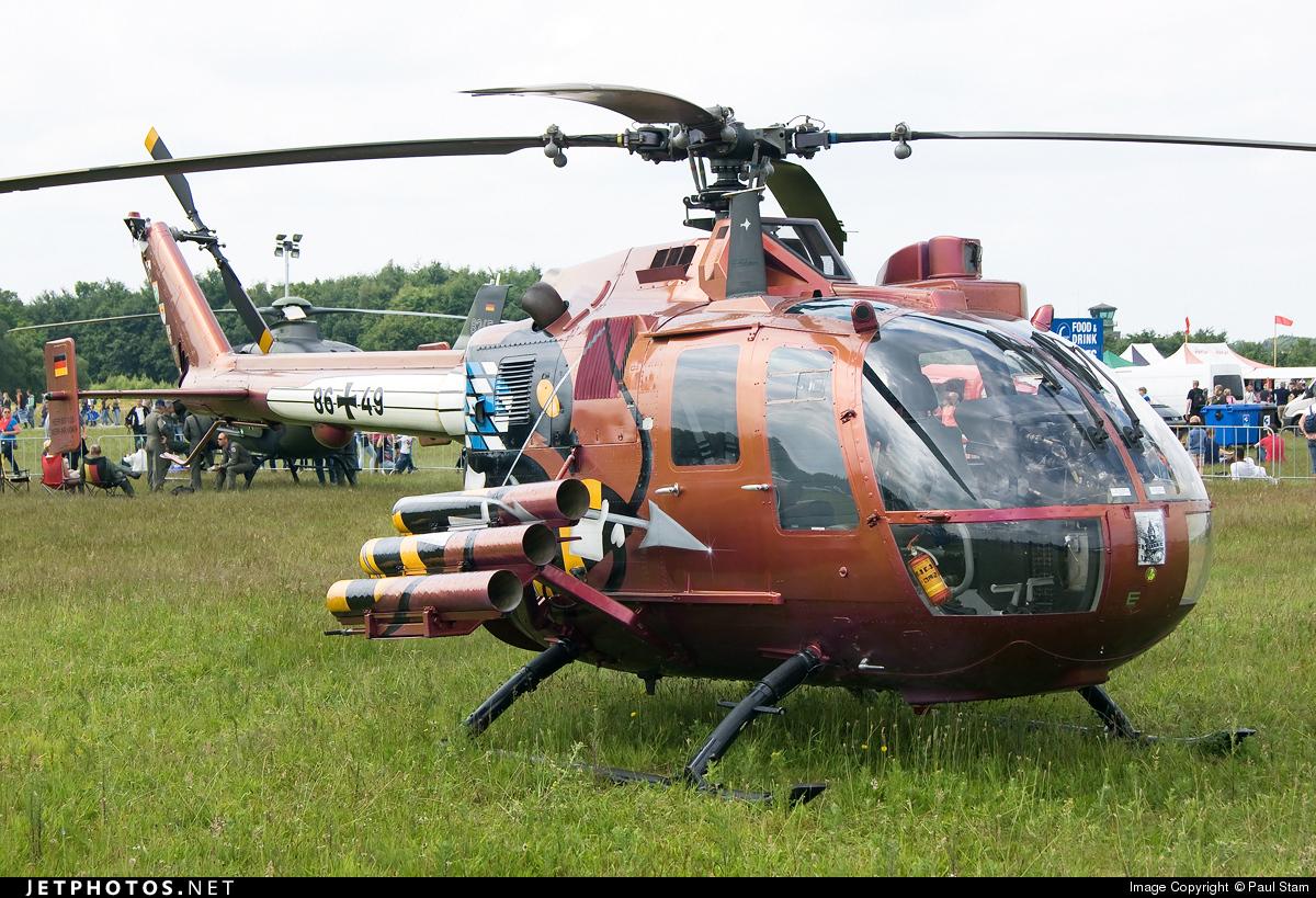 86-49 - MBB Bo105P1 - Germany - Army