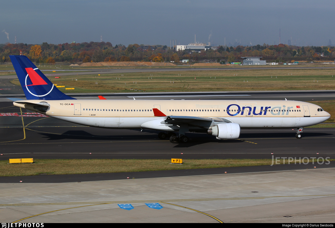 TC-OCA - Airbus A330-322 - Onur Air
