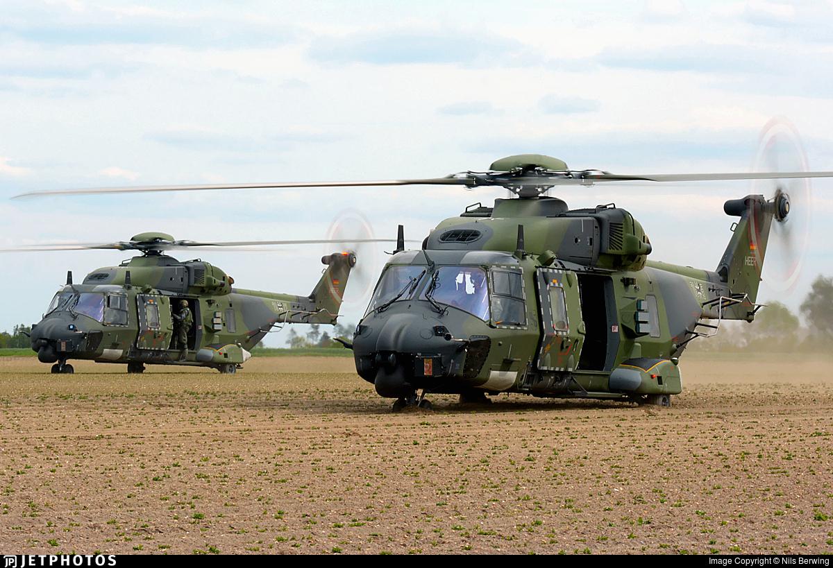 79-15 - NH Industries NH-90TTH - Germany - Army