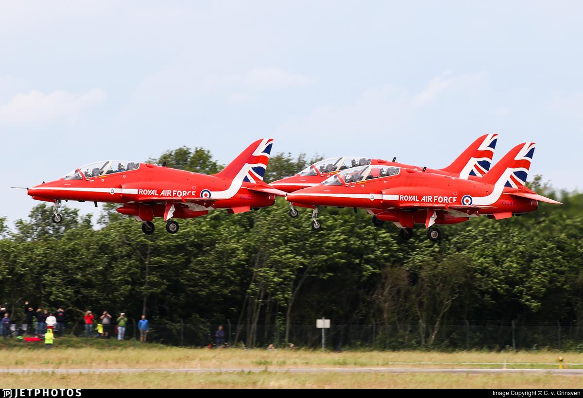 XX244 - British Aerospace Hawk T.1W - United Kingdom - Royal Air Force (RAF)