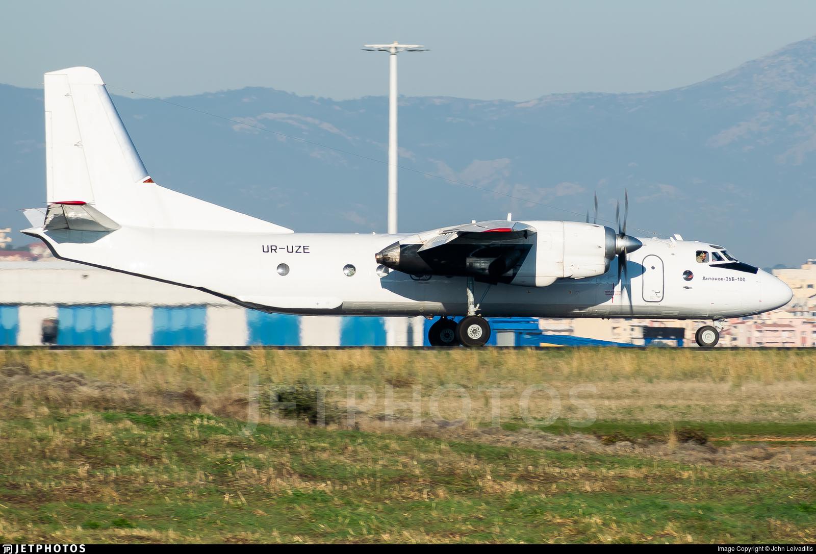 UR-UZE - Antonov An-26B-100 - Constanta Airlines