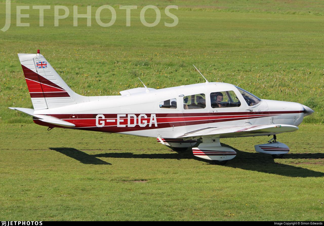 G-EDGA - Piper PA-28-161 Warrior II - Private