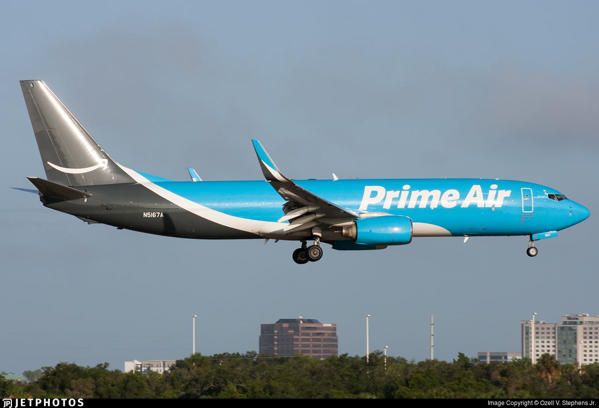 N5167A - Boeing 737-83N(BCF) - Amazon Prime Air (Southern Air)