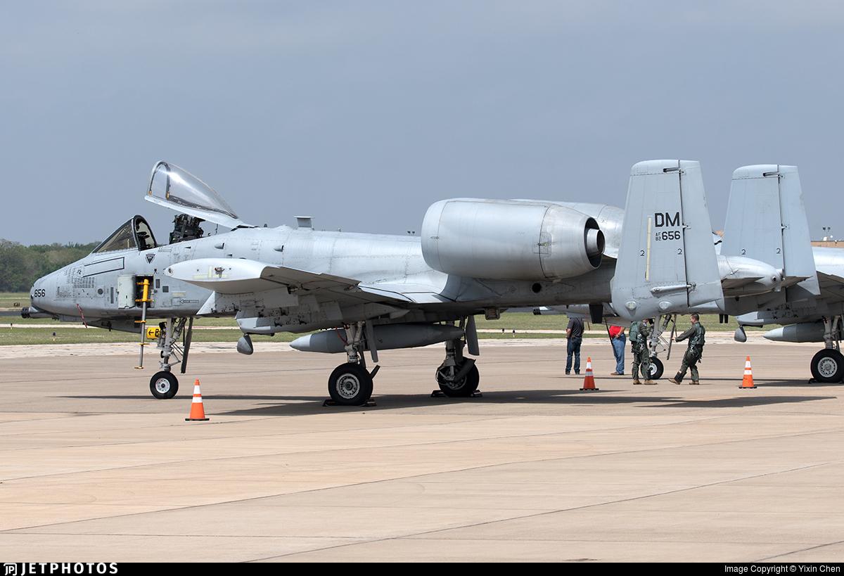 82-0656 - Fairchild A-10C Thunderbolt II - United States - US Air Force (USAF)