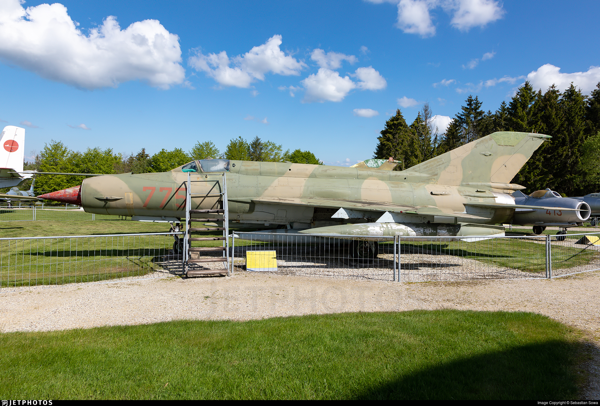 23-44 - Mikoyan-Gurevich MiG-21MF Fishbed J - Germany - Air Force