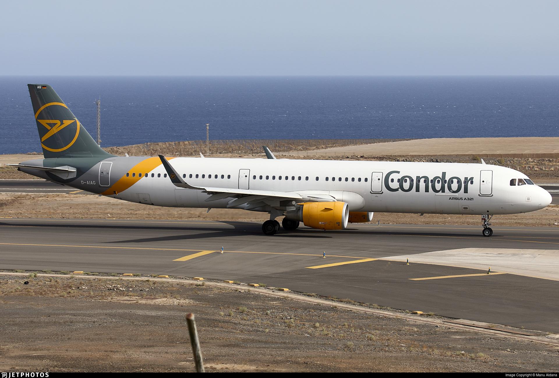 D-AIAG - Airbus A321-211 - Condor