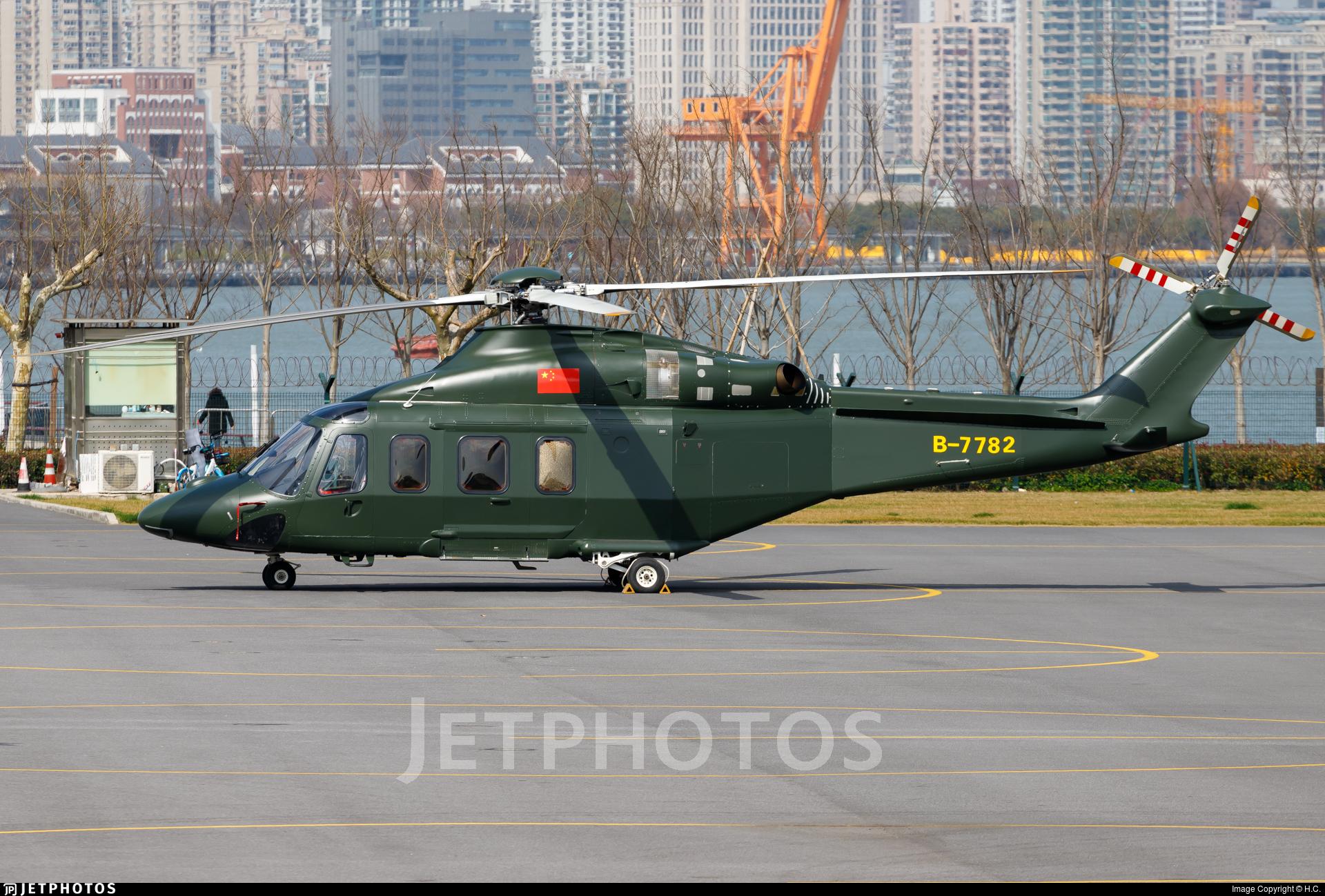 B-7782 - Agusta-Westland AW-139 - Shenzhen Heli-Eastern