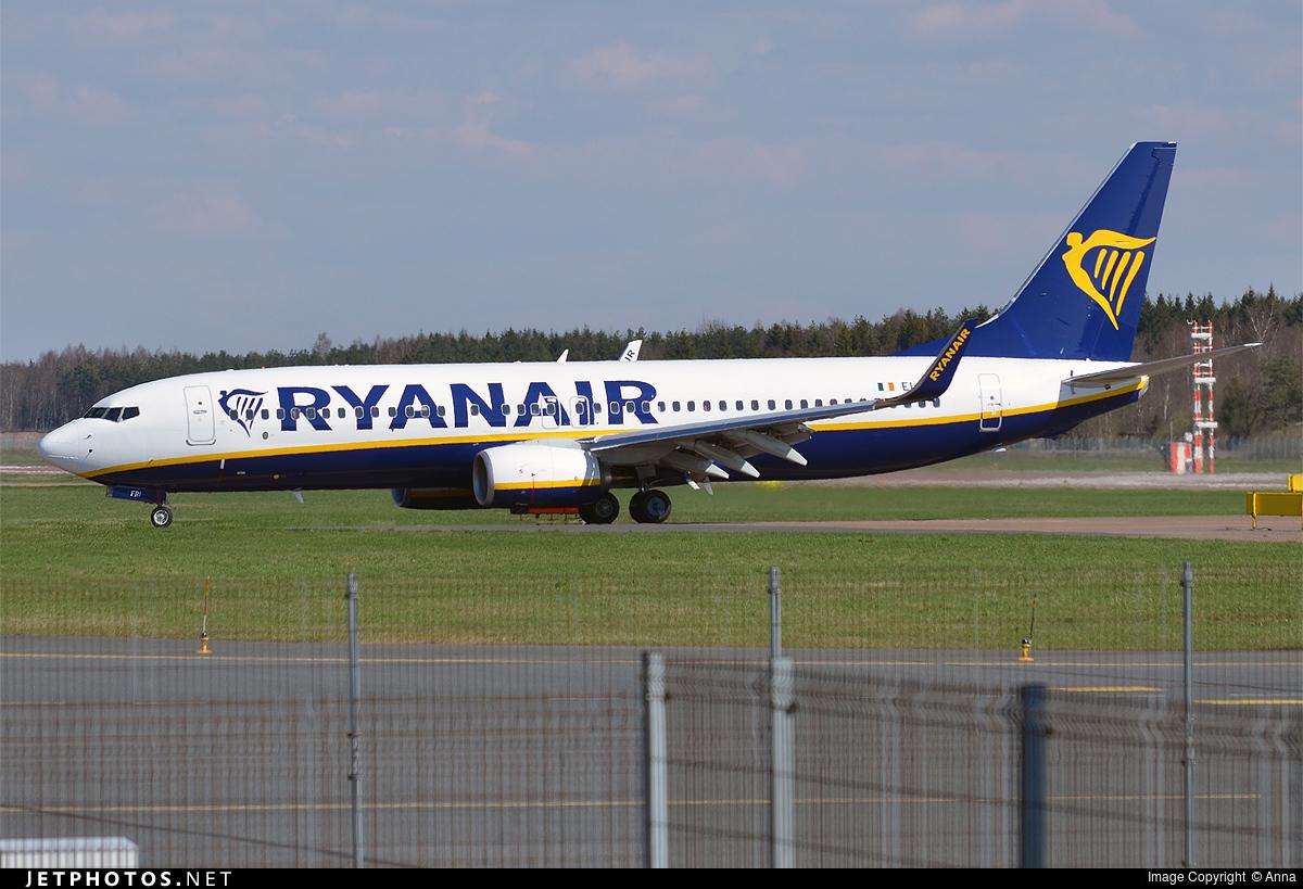 EI-FRI - Boeing 737-8AS - Ryanair
