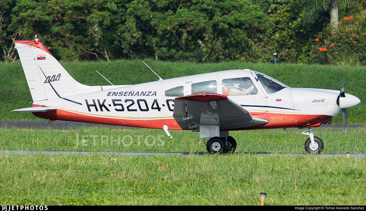 HK-5204-G - Piper PA-28-181 Archer II - Academia Antioqueña de Aviación (AAA)