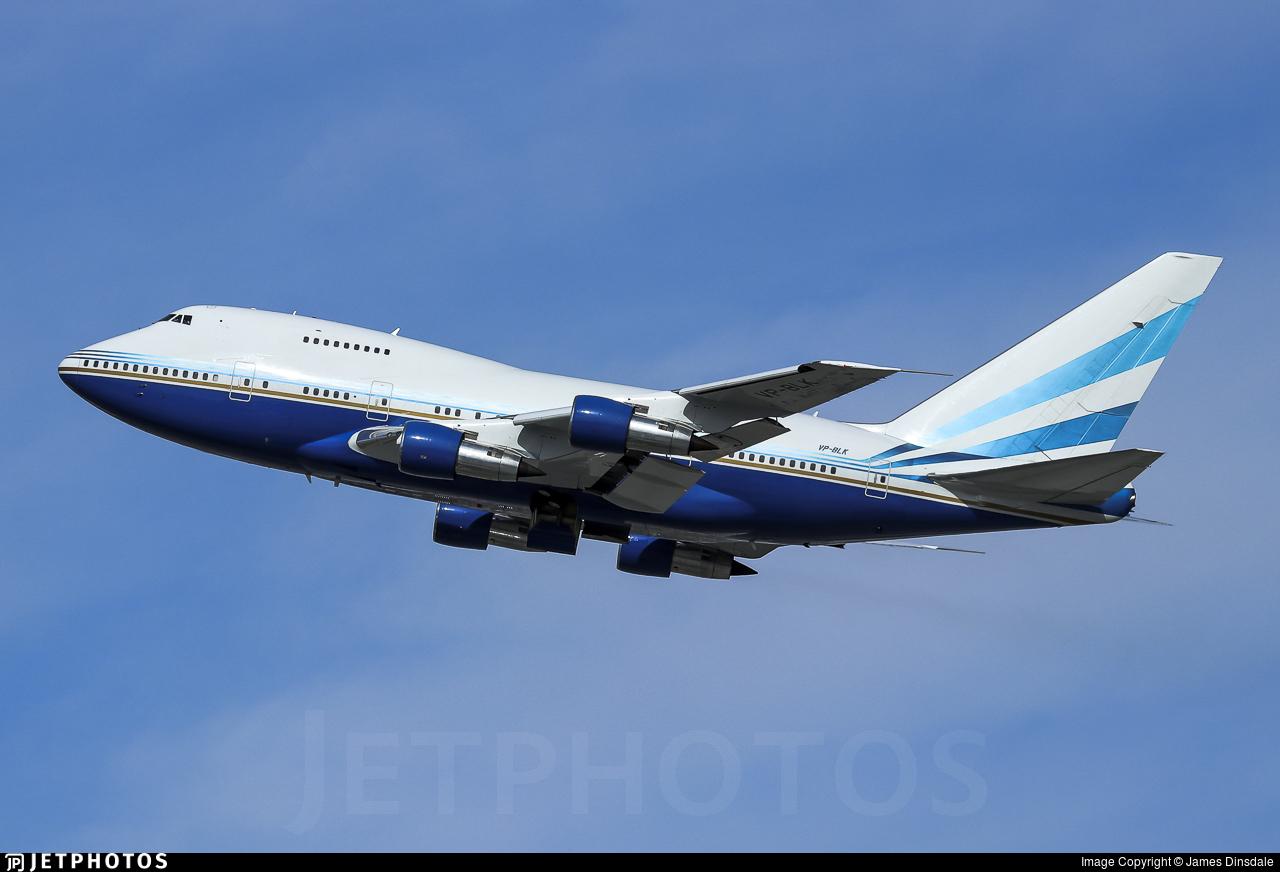 VP-BLK - Boeing 747SP-31 - Las Vegas Sands Corporation
