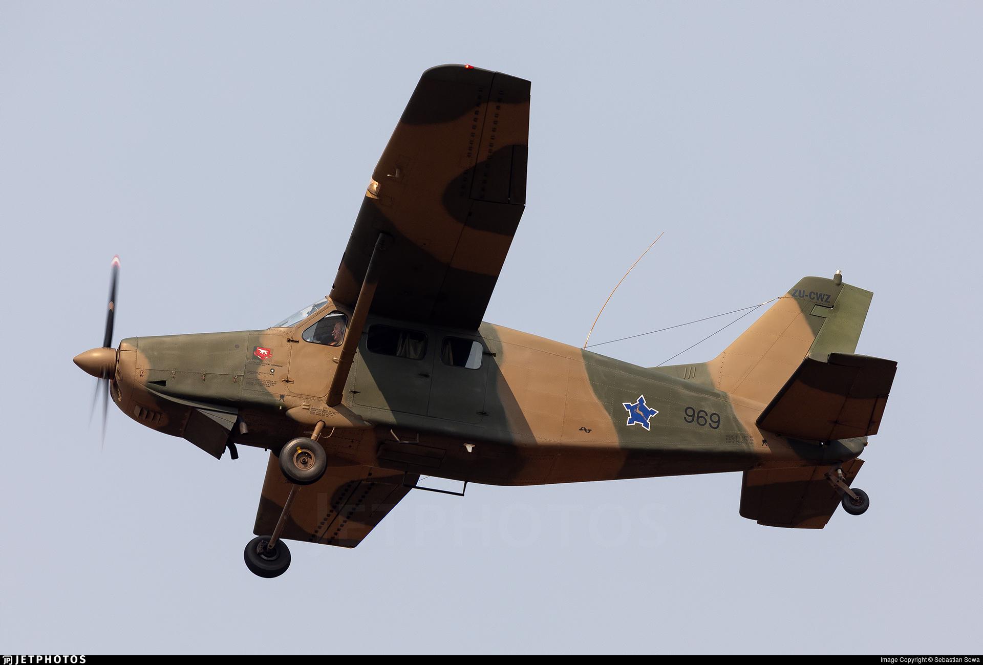 ZU-CWZ - Atlas AL-60C-4M Kudu - Private