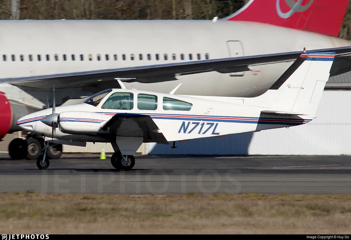 N717L - Beechcraft 95-B55 Baron - Private