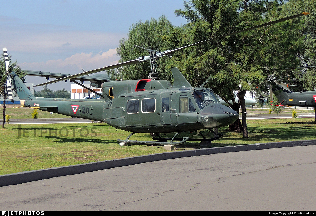 1420 - Bell 212 - Mexico - Air Force