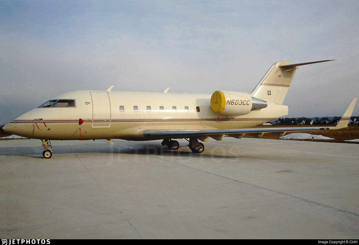 N603CC - Bombardier CL-600-2B16 Challenger 601-3A - Private