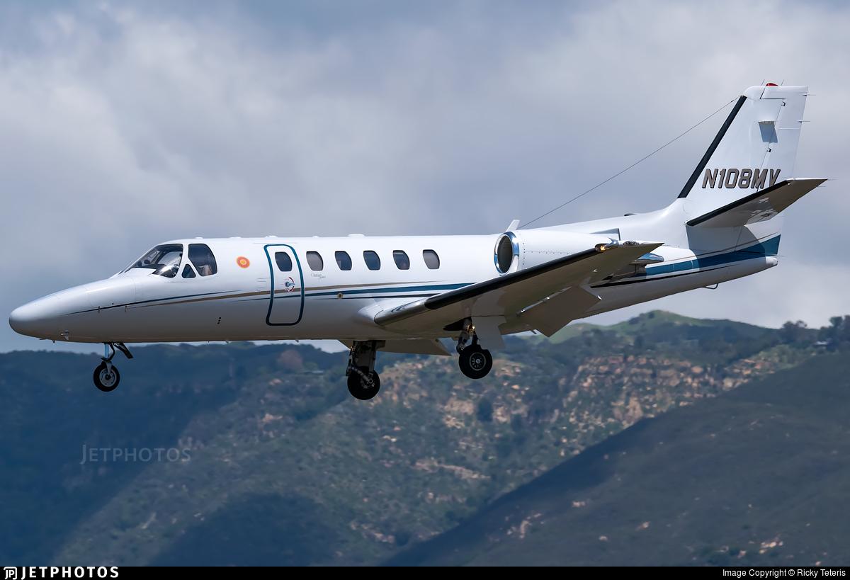 N108MV - Cessna 550B Citation Bravo - Private