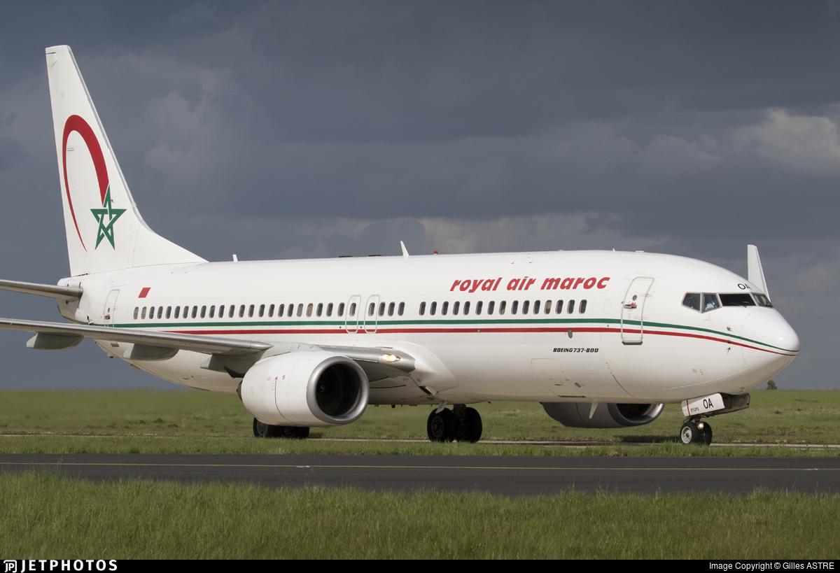 CN-ROA | Boeing 737-8B6 | Royal Air Maroc (RAM) | Gilles ASTRE ...
