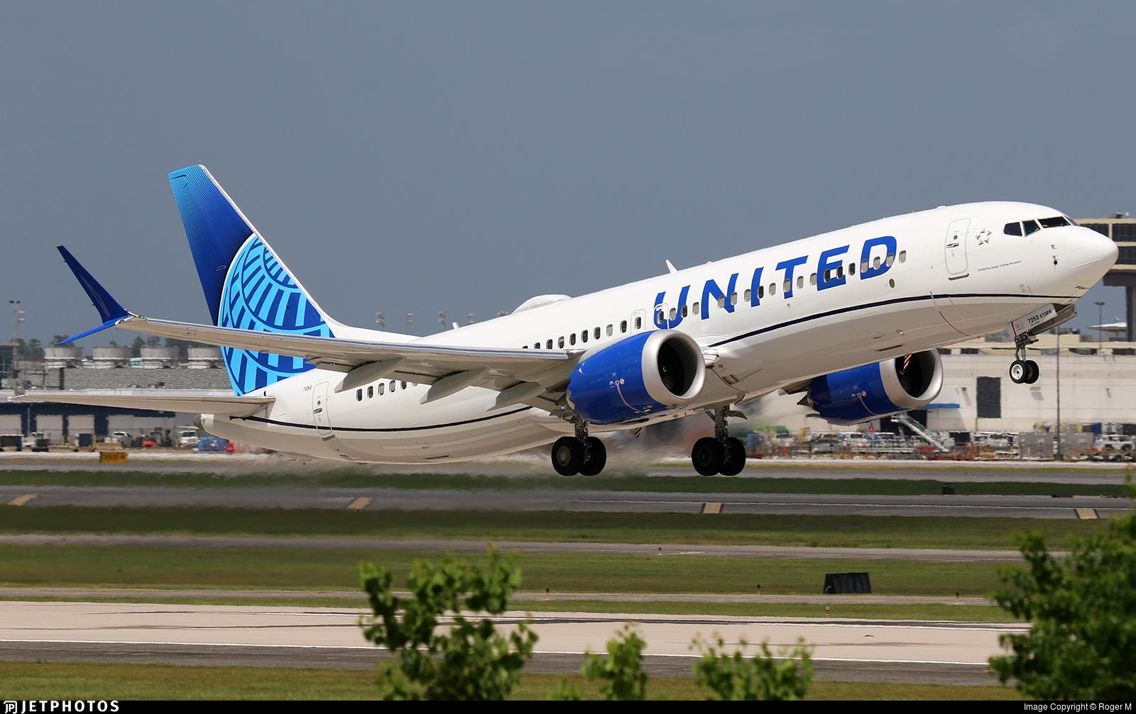 N27252 - Boeing 737-8 MAX - United Airlines