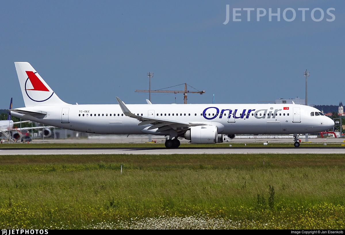 TC-OEE - Airbus A321-253N - Onur Air