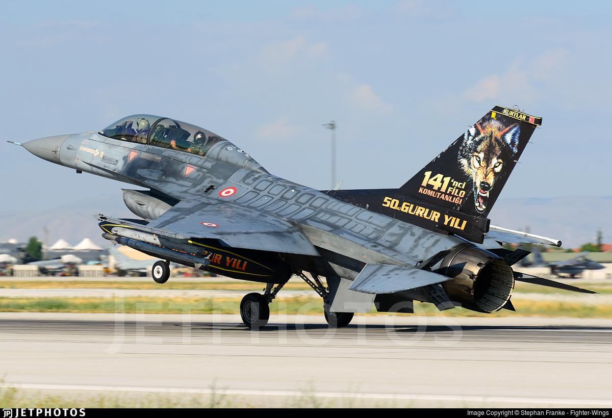 94-0110 - Lockheed Martin F-16D Fighting Falcon - Turkey - Air Force
