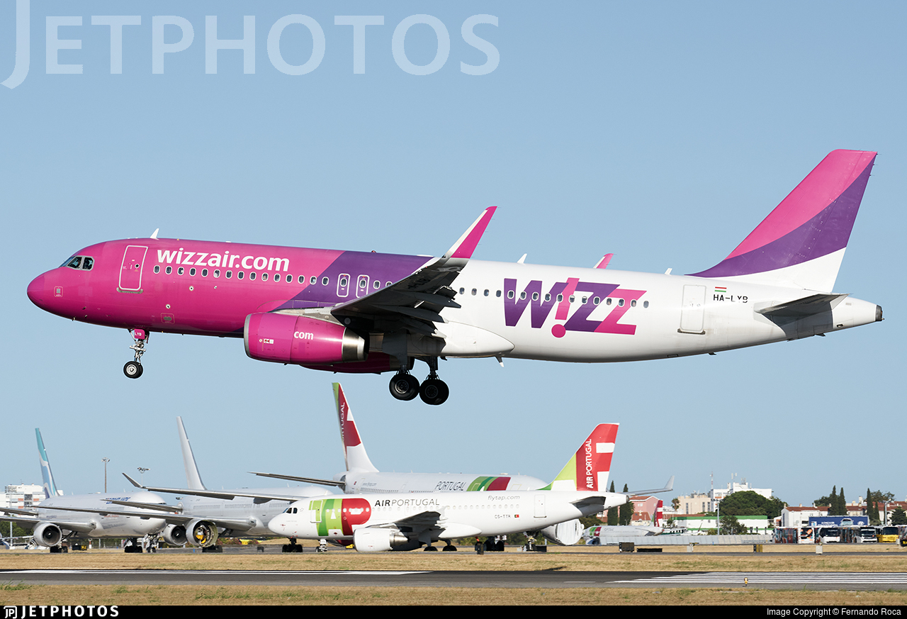 HA-LYB - Airbus A320-232 - Wizz Air