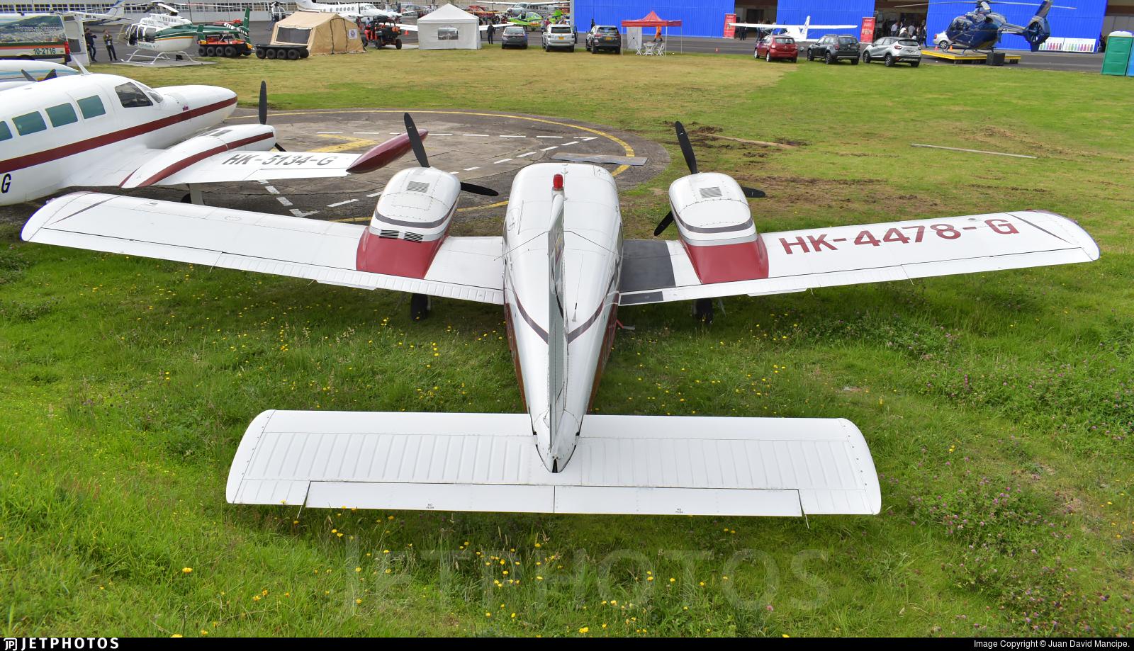 HK-4478-G - Piper PA-34-220 Seneca III - Private