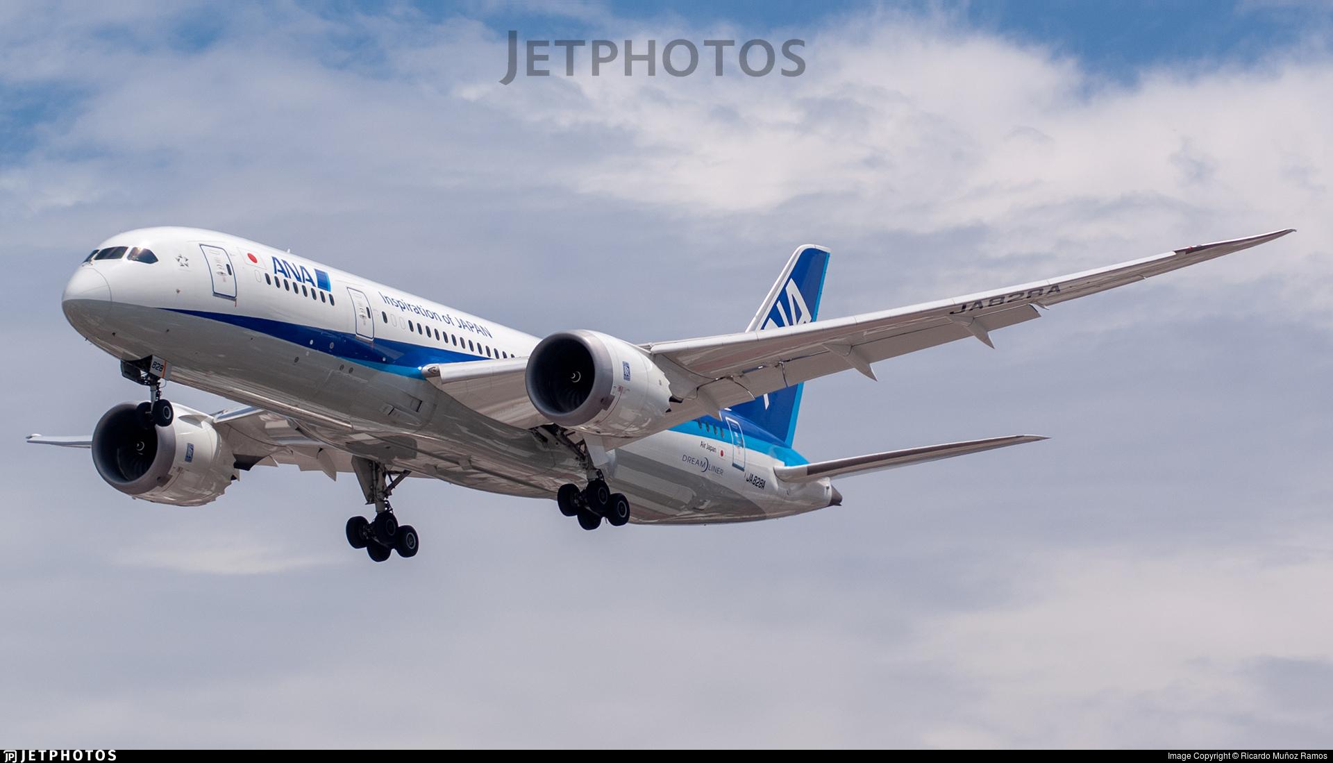 JA828A - Boeing 787-8 Dreamliner - All Nippon Airways (Air Japan)