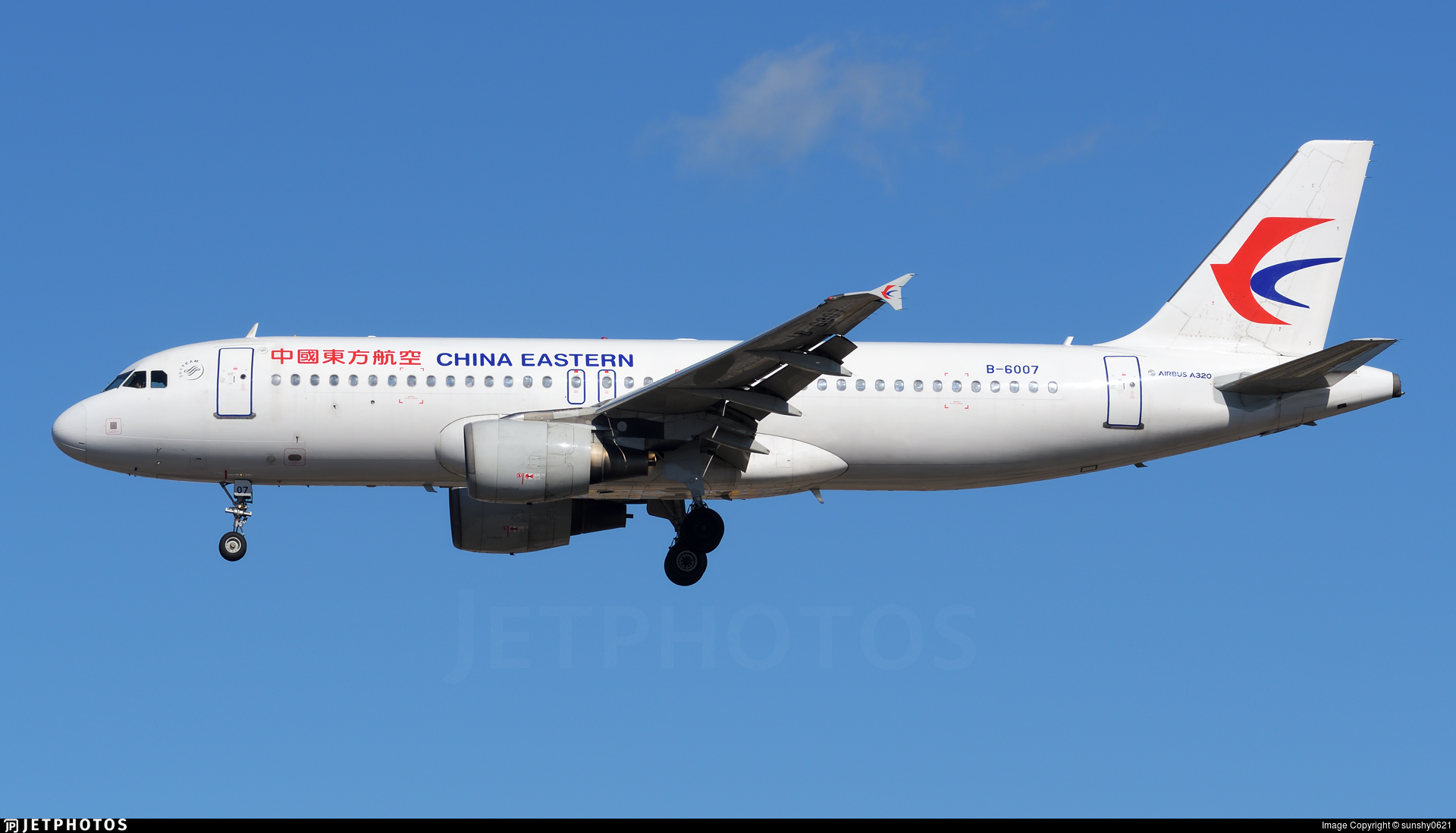 B-6007 - Airbus A320-214 - China Eastern Airlines