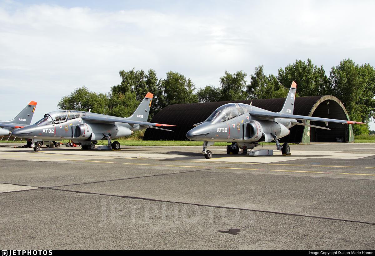 AT-30 - Dassault-Breguet-Dornier Alpha Jet 1B+ - Belgium - Air Force