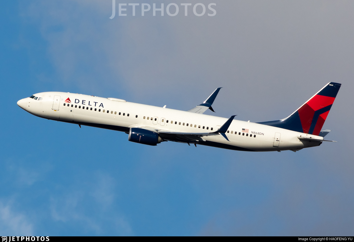 N868DN - Boeing 737-932ER - Delta Air Lines