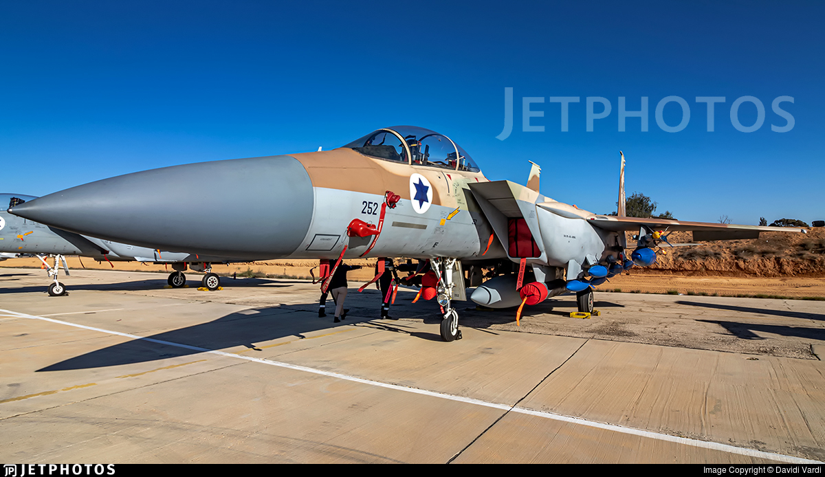 252 - Boeing F-15I Ra'am - Israel - Air Force