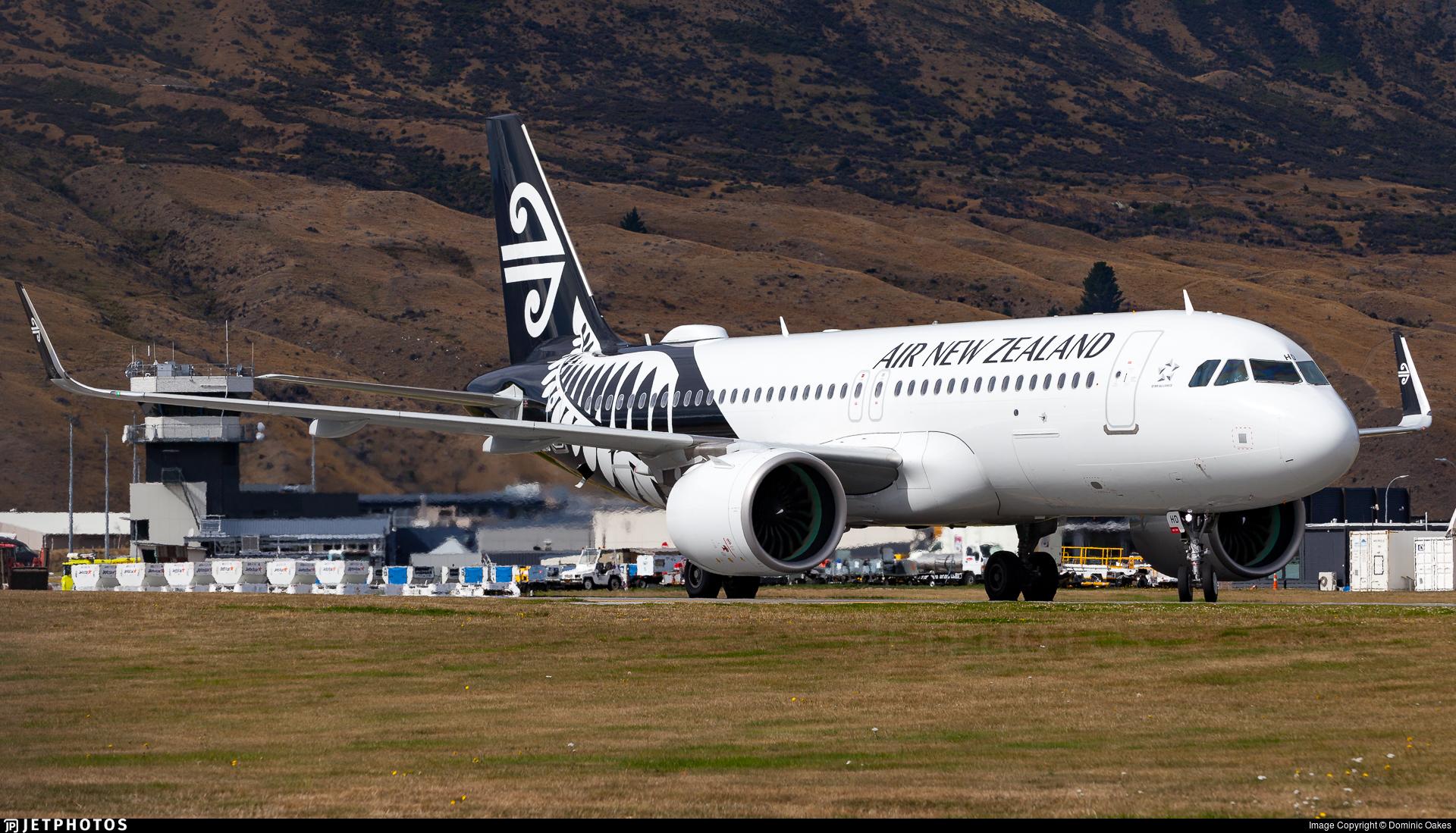 ZK-NHD - Airbus A320-271N - Air New Zealand