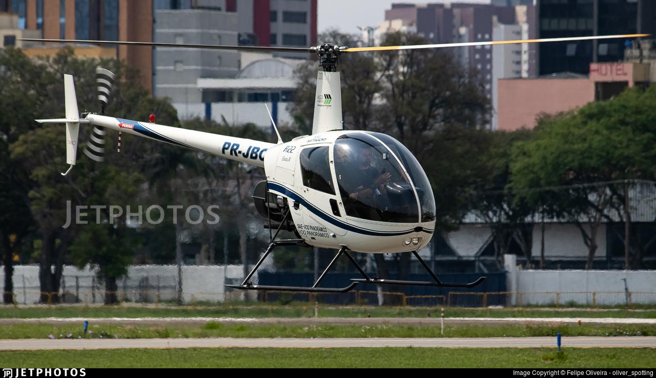 PR-JBC - Robinson R22 Beta II - AGD Aviation Formação de Pilotos