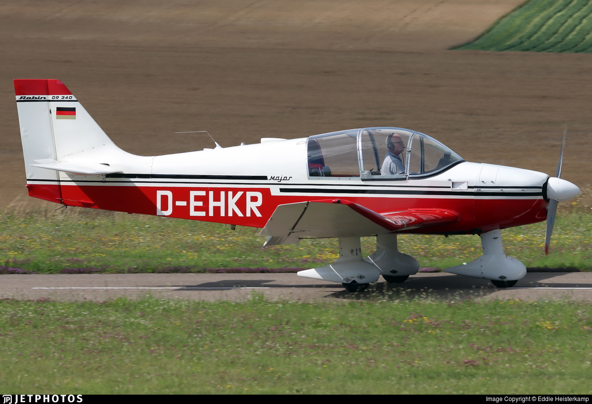 D-EHKR - Robin DR340 - Private