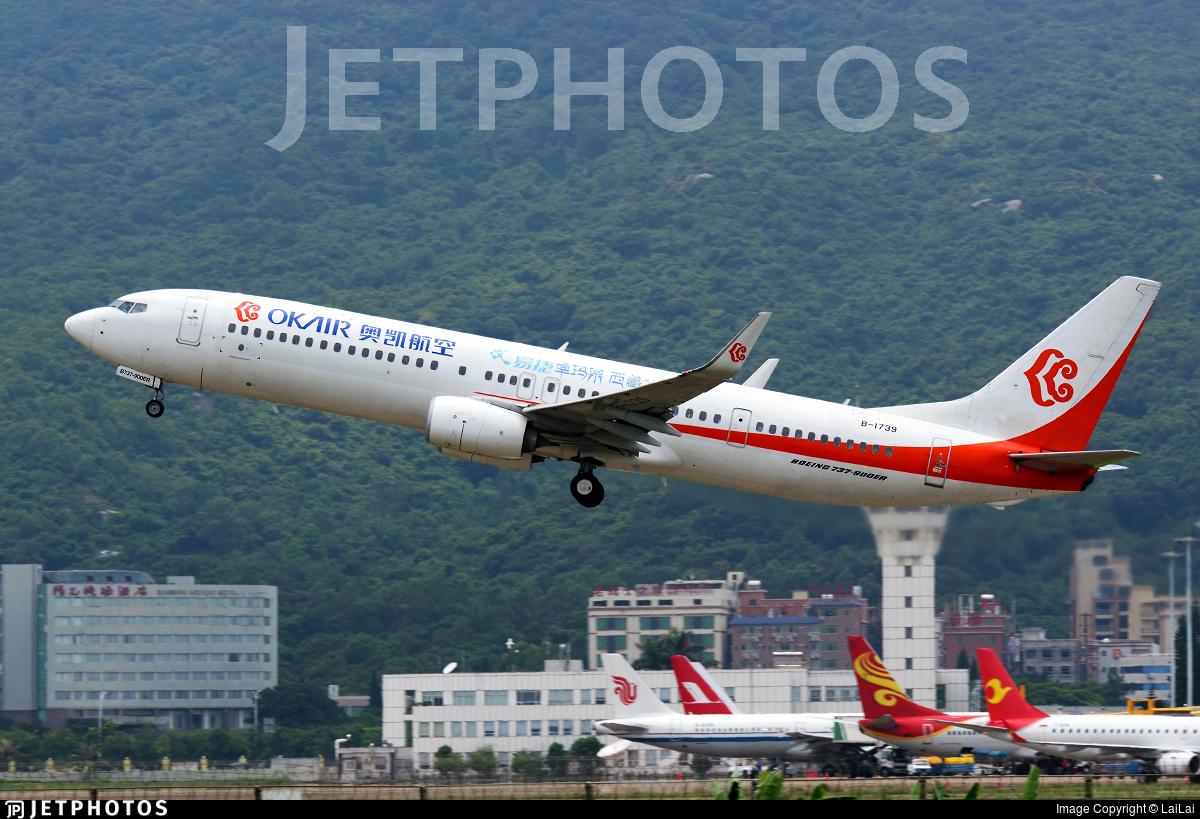 B-1739 | Boeing 737-9KFER | OK Air | LaiLai | JetPhotos