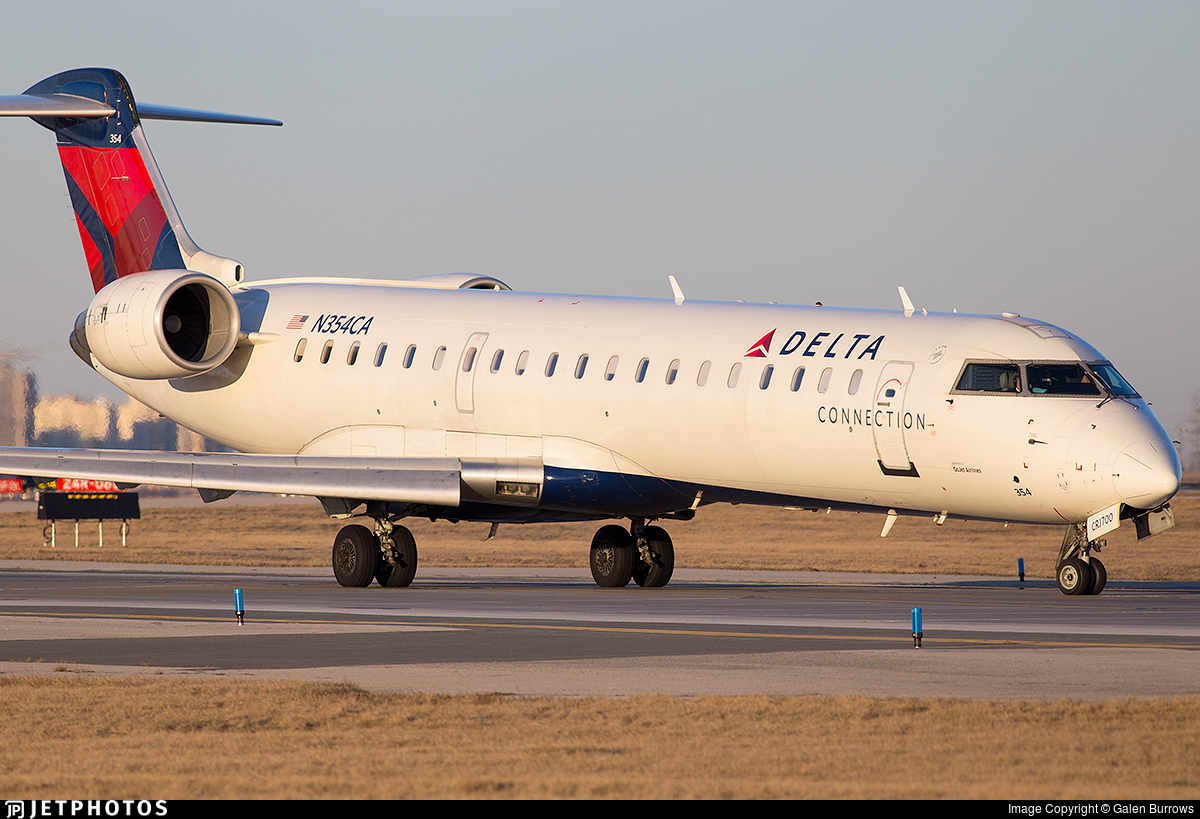 N354CA - Bombardier CRJ-701ER - Delta Connection (GoJet Airlines)