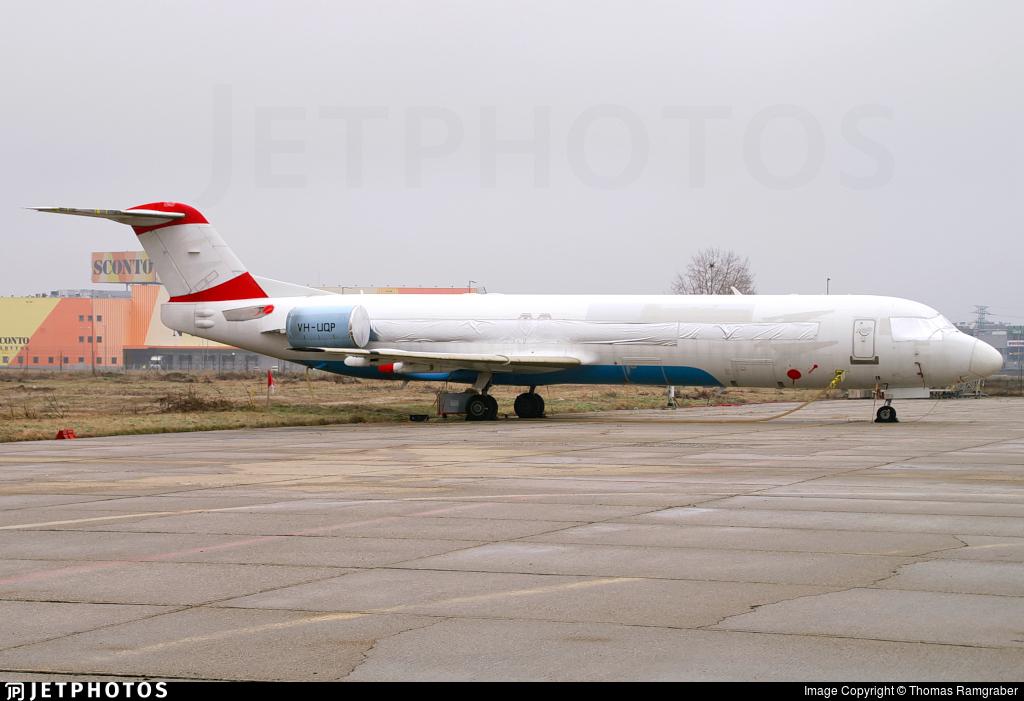 VH-UQP - Fokker 100 - Alliance Airlines