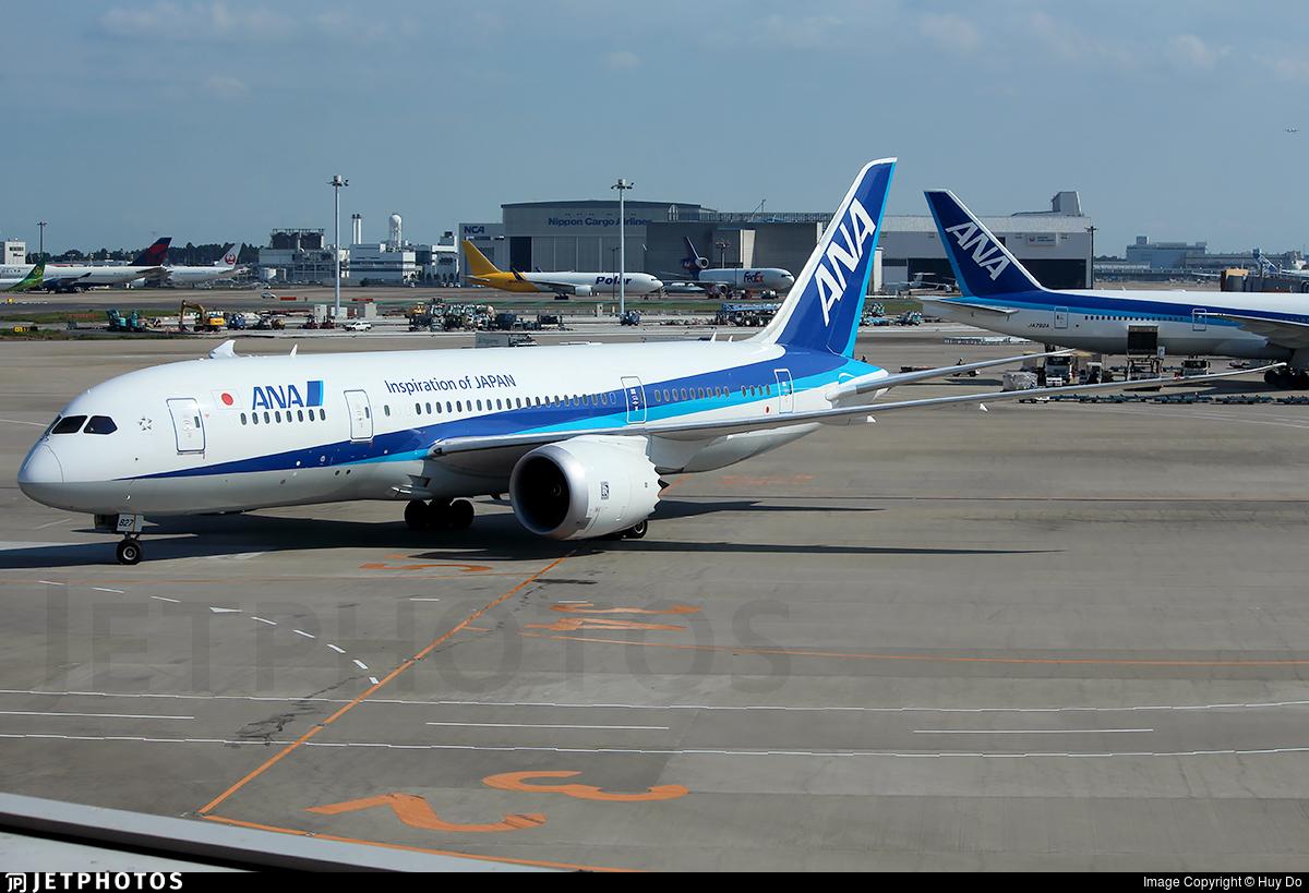 JA827A - Boeing 787-8 Dreamliner - All Nippon Airways (ANA)