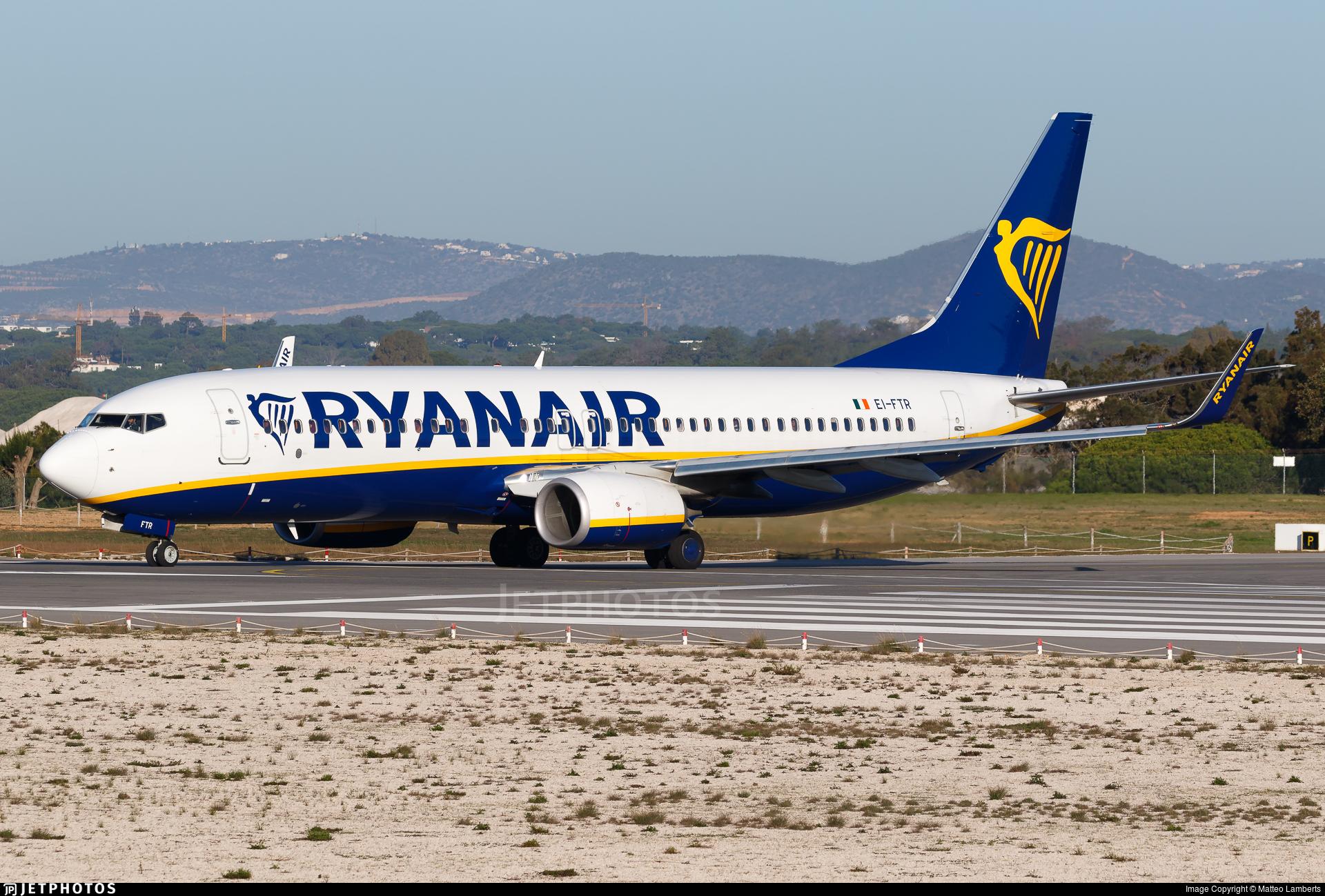 EI-FTR - Boeing 737-8AS - Ryanair