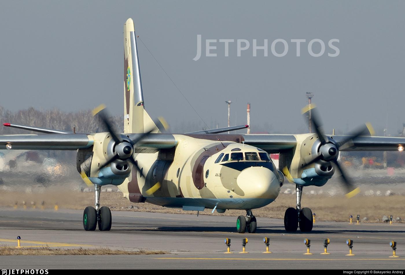 02 - Antonov An-26 - Kazakhstan - Border Guard