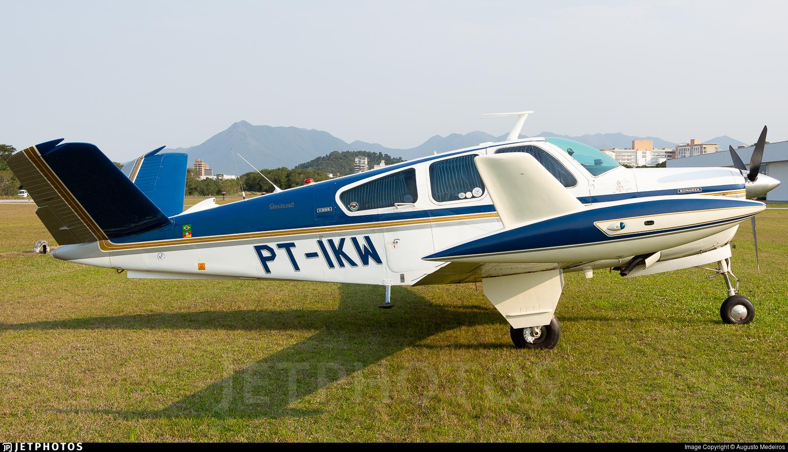 PT-IKW - Beechcraft V35B Bonanza - Private