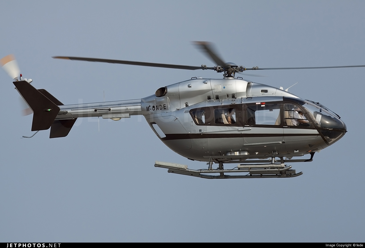 M-ONDE - Eurocopter EC 145 - Private