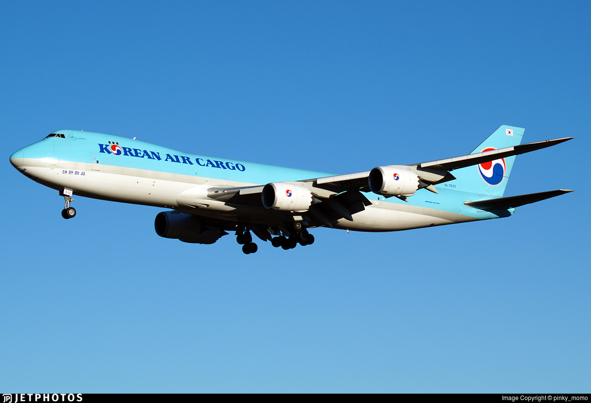 HL7610 - Boeing 747-8HTF - Korean Air Cargo