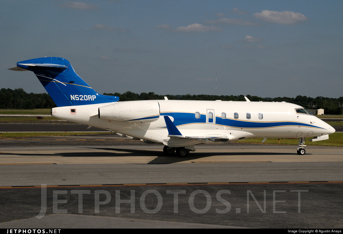 N520RP - Bombardier BD-100-1A10 Challenger 300 - Private