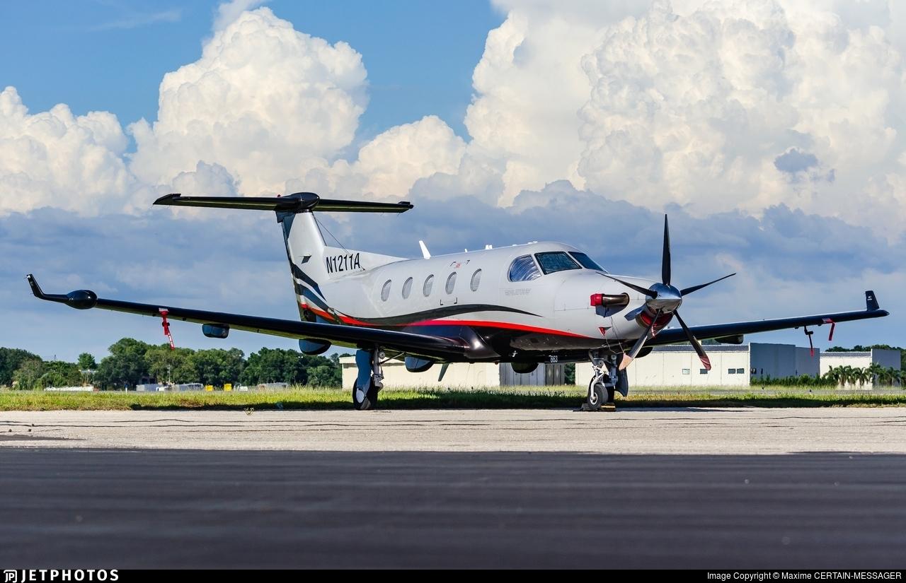 N1211A - Pilatus PC-12/45 - Private