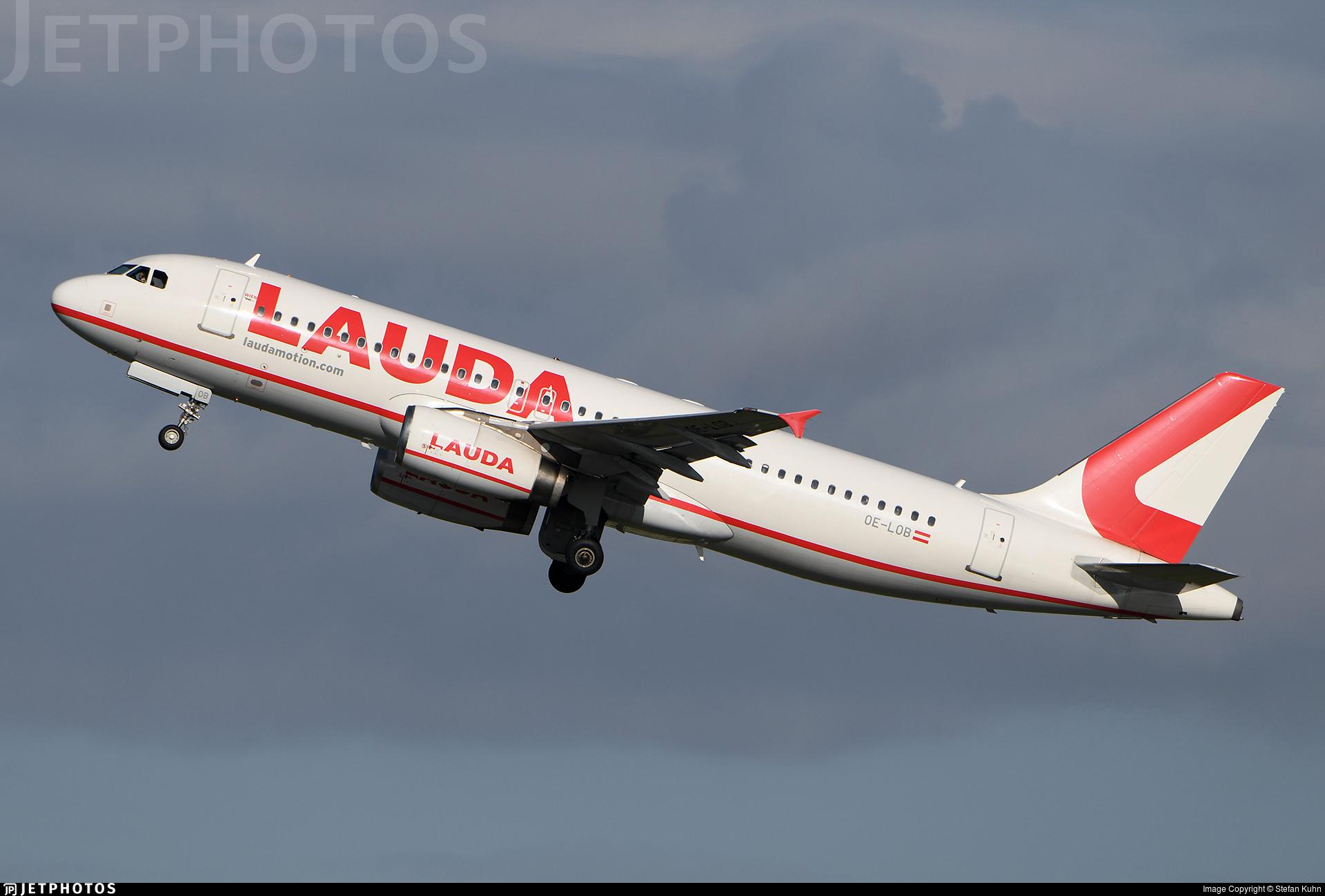 OE-LOB - Airbus A320-214 - LaudaMotion